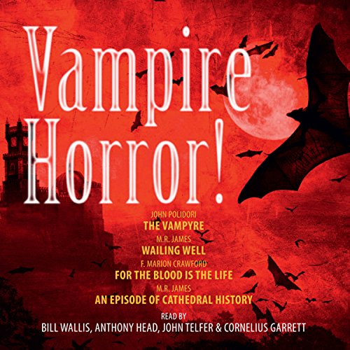 Vampire Horror! audiobook cover art