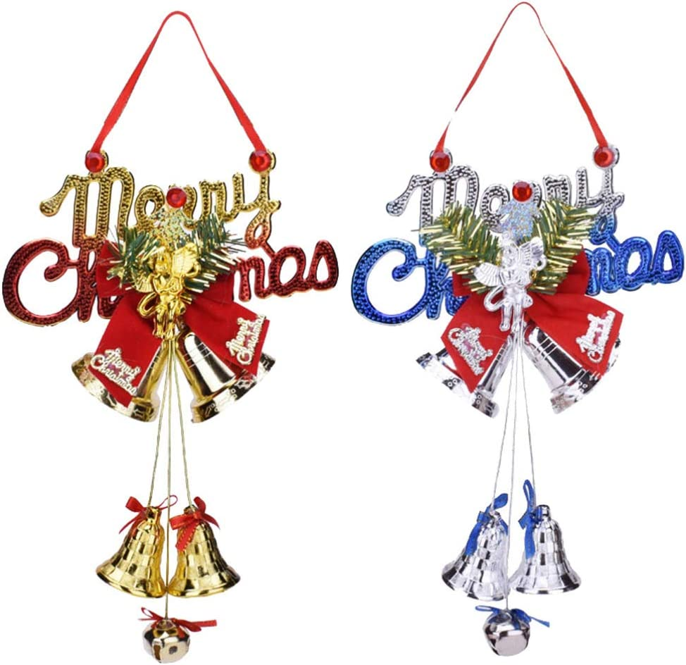 NUOBESTY Christmas Hanging Ornaments Xm Selling and Daily bargain sale selling Bells Jingle w