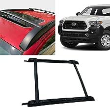 Black Roof Rack Rail Fits 2007-2018 Toyota Tacoma Aluminium Cross Bar