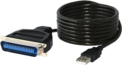 Sabrent USB to Parallel IEEE 1284 Printer Cable Adapter (CB-CN36)