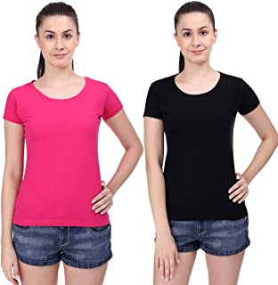 STATUS MANTRA Women's T-Shirt (Pack of 2)