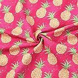David Accessories Stoff mit Wassermelonen-Muster, Bullet
