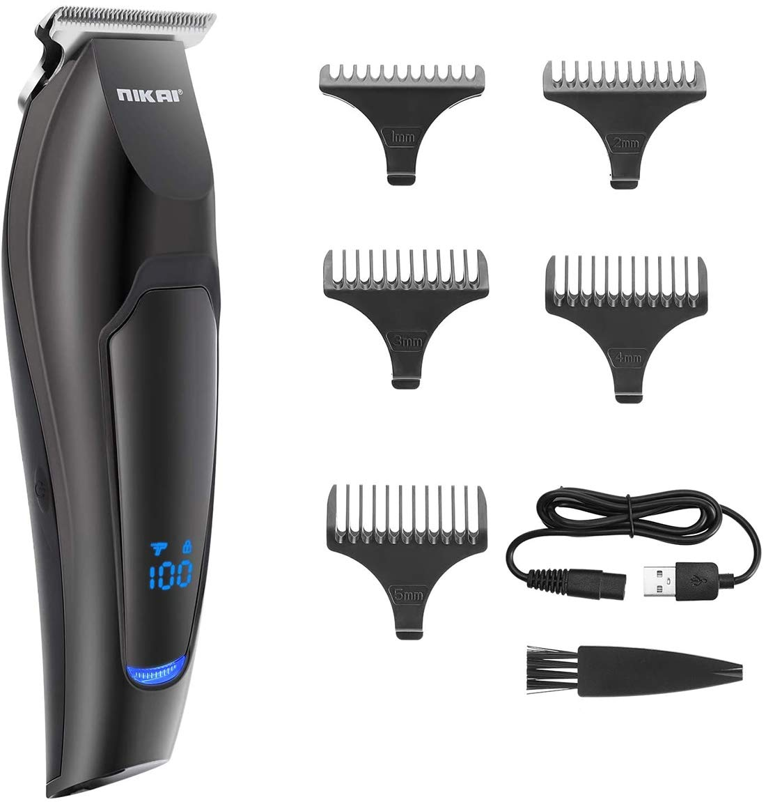 Nikai Chicago At the price of surprise Mall Hair Trimmer Clippers for Rechargea Men USB Cordless