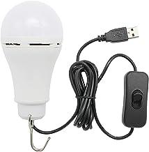 Draagbare lantaarns 5W USB LED-lamp licht met schakelknoop Home Nachtlamp voor wandelen Camping Vissen Buitenverlichting