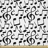 ABAKUHAUS Musik Stoff als Meterware, Skizzenhafte Notizen