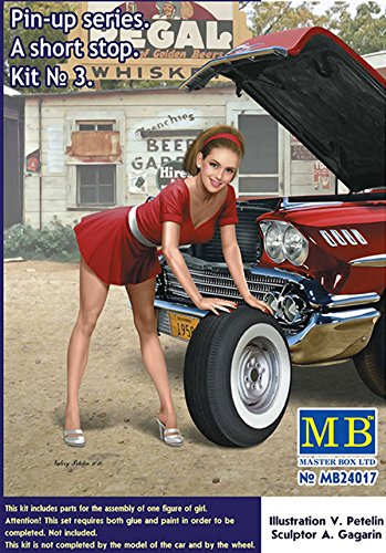 Master Box MB24017 - Figuren Pin-up Series.A Short Stop Kit No.3