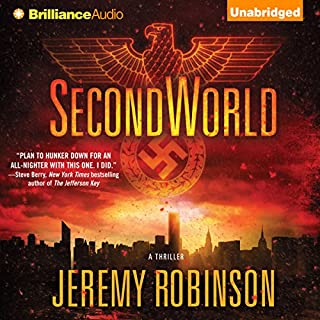 SecondWorld audiobook cover art