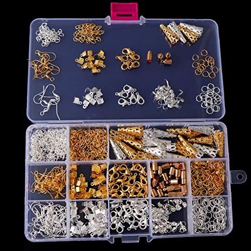 ZJL220 Creación de joyas, kit de búsqueda de pendientes, kit de materiales mixtos, collar, accesorios hechos a mano