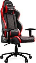 GTRACING Gaming Chair Heavy Duty Ergonomic Chair Racing Video Game Chair with Headrest and Lumbar Recliner Swivel Rocker E-Sports Chair (902-Red)