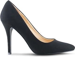 Womens Pointy Toe High Heels Stiletto Dress Pumps