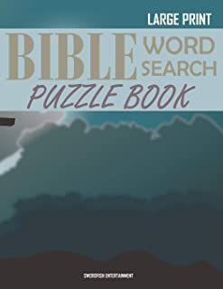 Bible Word Search Puzzle Book: Christian Scripture Verses Wordsearch
