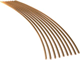 Guitar Fret Wire - Jescar WIDE-MEDIUM (47104) Gold EVO - Six Feet