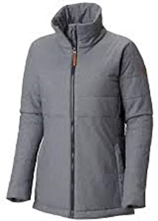 Women's Achen Lake EXS Insulated Water Resistant Jacket Medium Gray