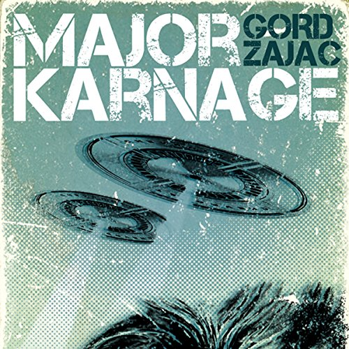 Major Karnage audiobook cover art