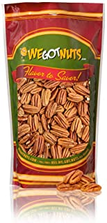 3 Pounds Of 100% Natural Raw Pecan (48Oz) Nuts- Whole, Shelled & Unsalted Pecan Halves by We Got Nuts- Non GMO, No Preserv...