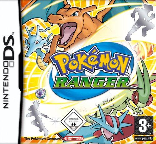 Nintendo Pokemon Ranger - Juego (Nintendo DS, RPG (juego de rol), Hal Laboratories)