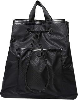 Tommy Hilfiger Backpack Negra Mochila para Mujer Negro Talla Unitalla