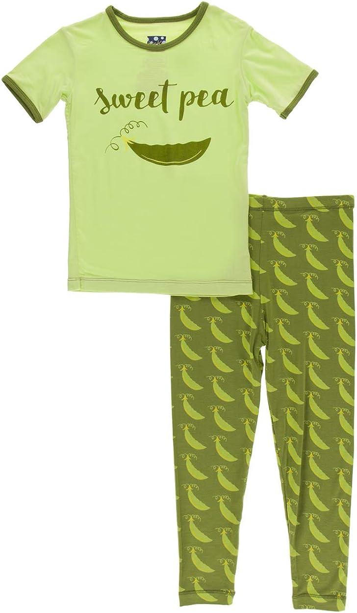 KicKee Pants Max 44% OFF Short Sleeve Pajama Piece Set Print High material