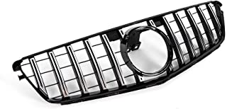 Front Bumper Upper Chrome Grill GT R AMG Style For 2008-2014 Mercedes Benz C Class W204 C200 C300