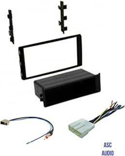 Premium ASC Car Stereo Dash Install Kit, Wire Harness, and Antenna Adapter to Install Aftermarket Radio for select Nissan Vehicles - Compatible Vehicles Listed Below