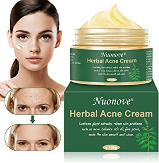 Acne Scar Removal Cream, Anti Acne Cream, Acne Face Cream, Anti Pimple Cream, Balance Water And Oil, Pimple Anti Acne Cream Regenerates The Skin, 100g