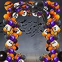 Lokie 154-Piece Halloween Balloon Garland Arch Kit