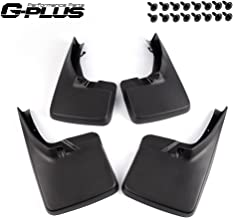 G-PLUS Front & Rear Mud Flaps Splash Guard Wheel Mudguards Kit for 2009-2018 Dodge Ram 1500 2500 3500 Black 2015