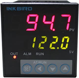 Inkbird ITC-106VH PID Temperature Thermostat Controllers Fahrenheit and Centigrade AC 100 to 240V for Sous Vide Home Brewing Oven Incubator