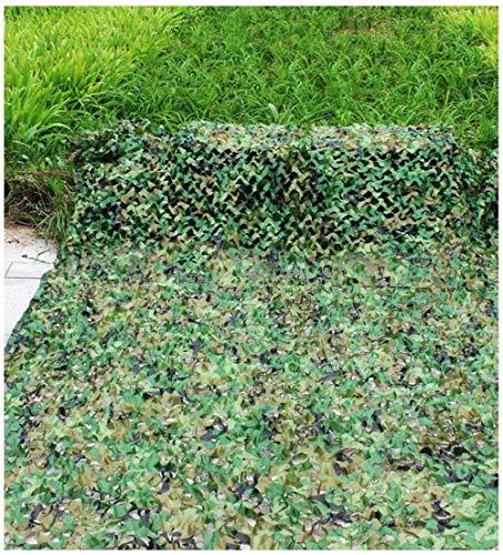 LAOSUNJIA Tarnnetz, Balkon Shade Net Live-Action-Spiel Dekoration Net im Freien Dschungel Tarnnetz Pflanze Blume Schutznetz Anti-UV-Netzwerk Dschungel versteckt (Size : 6 * 6m)