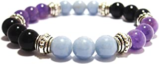 PHYSICAL PAIN RELIEF 8mm Crystal Healing Gemstone Intention Bracelet