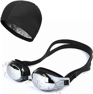 comprar comparacion Sunzit Gafas de Natación, Gafas de natación para Adultos,Hombres, Mujeres con Gorra de natación, Estuche Protector Gratis ...