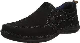 Josef Seibel Men's Anvers 48 Slip On Casual Shoe Black/Komb 43 Medium EU