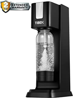 TIBEK - Máquina para hacer soda con botella de agua de 1 L