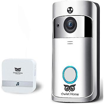 Owlet Home] WiFi Video Doorbell camera