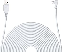 POPMAS Arlo Pro Charging Cable Weather Resistance Indoor/Outdoor Quick Charge USB 2.0 Adapter,20 Ft Extra Long 45mm Thickn...