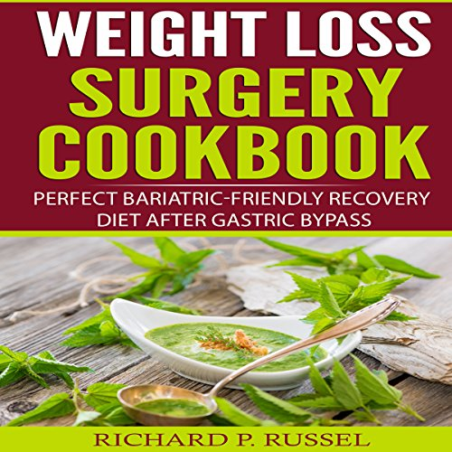 Weight Loss Surgery Cookbook audiobook cover art