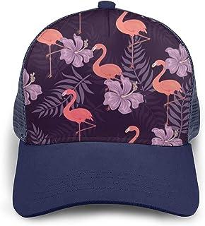 WFIRE Adult Baseball Caps Crazy Flaminggo Lady Custom Adjustable Sandwich Cap Casquette Hats