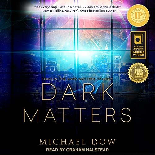 Dark Matters audiobook cover art