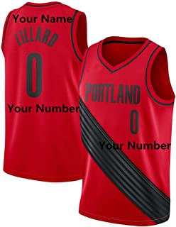 LaBiTi Personalized Basketball Jersey Men's Basketball Uniforms can be Customized Gifts Custom Name/Number Team Sports Shirt