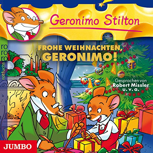 Frohe Weihnachten, Geronimo! (Geronimo Stilton 10) audiobook cover art