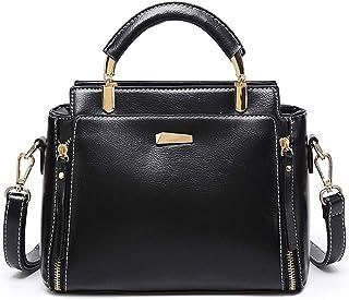 BUKESIYI Damen Tasche Umhängetasche Handtasche Frauen Klein Schultertasche Weekender Lack PU Leder CCDE77214