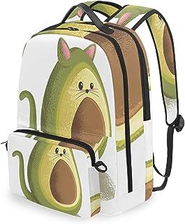 Mochila con bolsa cruzada desmontable, bonita mochila para ordenador de frutas, bolsa de libro para viajes, senderismo, acampada