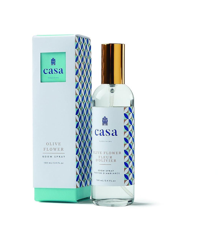 輝くシアー違うCASA カーサ ルームスプレー グリーン フレッシュバジル & オリーブ Room Spray Fresh Basil & Olive ピュアリビング Pureliving