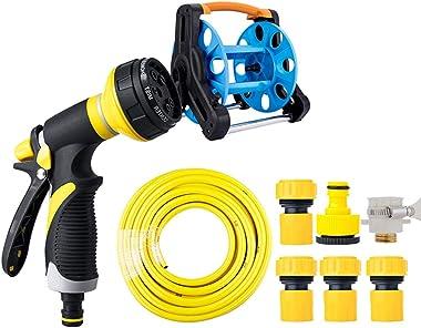Mesurn Garden Hose Nozzle Heavy Duty - Features Spray Patterns - Garden Hose Spray Nozzle for Garden Hose