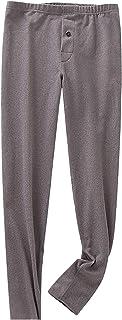 Men's Thermal Fleece Lined Casual Plush Warm Inner Wear Leggings Trousers Pants Winter Sport Leggings Clearance for Home G...