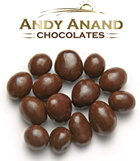 Andy Anand Vegan Dark Chocolate Covered California Raisins Wholesale Bulk, For Birthday, Valentine Day, Gourmet Christmas Holiday Food Gifts, Thanksgiving, Mothers Fathers Day, Weddings (1lbs)