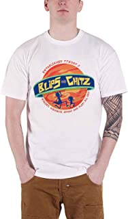 T Shirt Blips and Chitz Official Mens White Size S