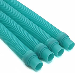 XtremepowerUS 4 Pcs Pool Cleaner Hose - Turquoise Blue