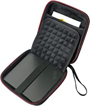 HESPLUS USB CD DVD Writer Blu-Ray & External Hard Drive Storage Case Travel Bag for Apple USB Superdrive, Samsung SE-208GB SE-218CB LG GP65NB60 GP60NB50 Dell ASUS External DVD Drives