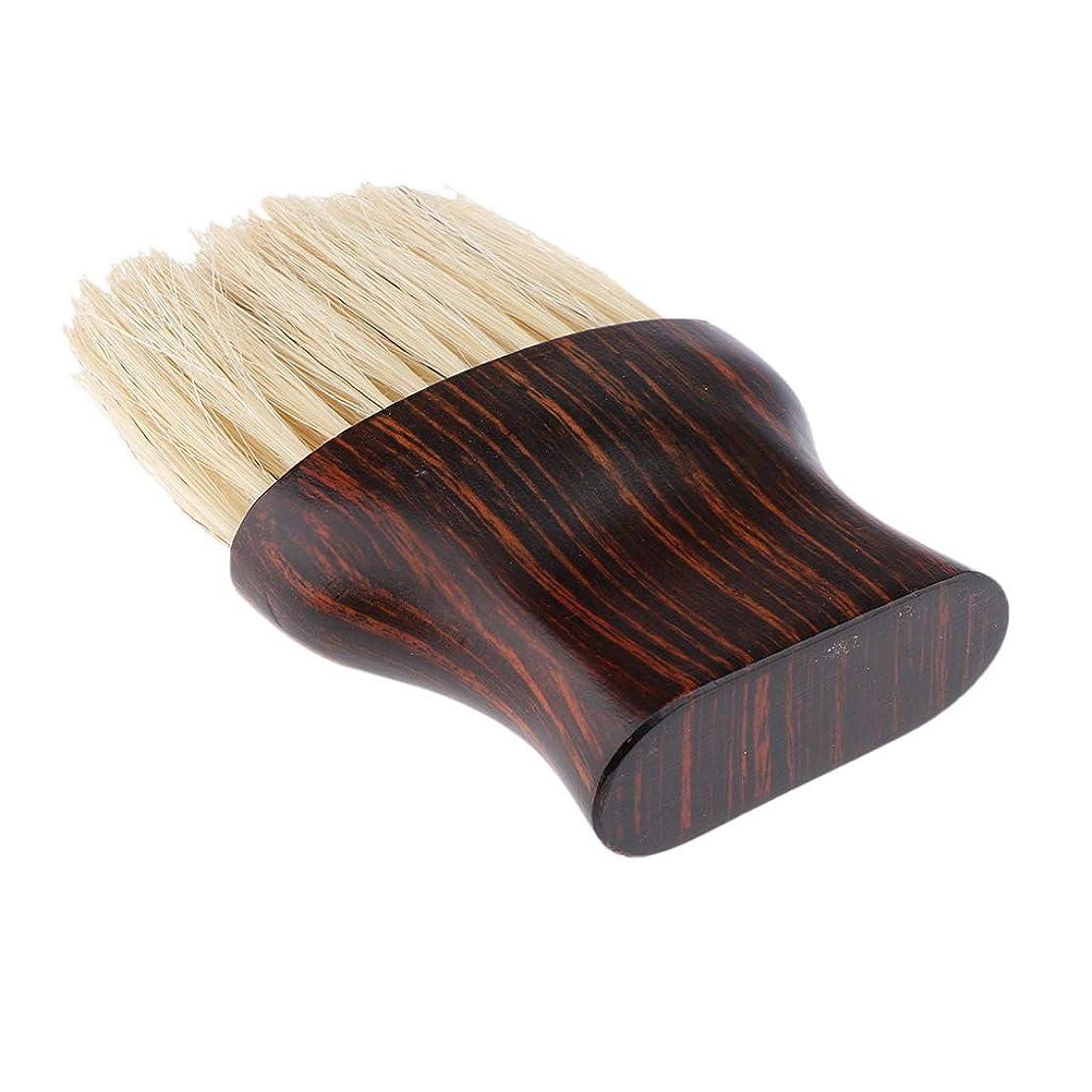 キャプテンブライマークダウンイーウェルSM SunniMix 毛払いブラシ ヘアブラシ 繊維毛 散髪 髪切り 散髪用ツール 床屋 理髪店 美容院 ソフトブラシ